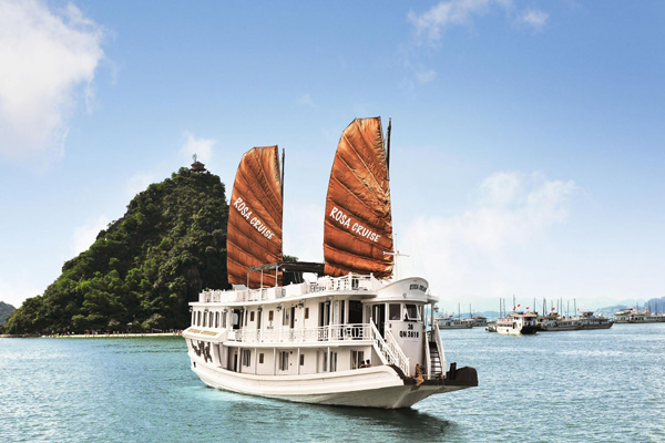 Ha Long Bay Cruise 2 Days Rosa Cruise